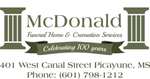 Mcdonald Funeral Home Picayune Ms